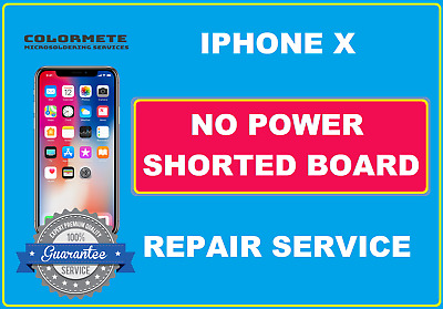 Iphone X No Power/Shorted Board Repair Service