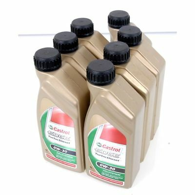 7 Litre Castrol Edge Turbo Diesel 0W-30 Fully Synthetic Longlife BMW Mercedes VW
