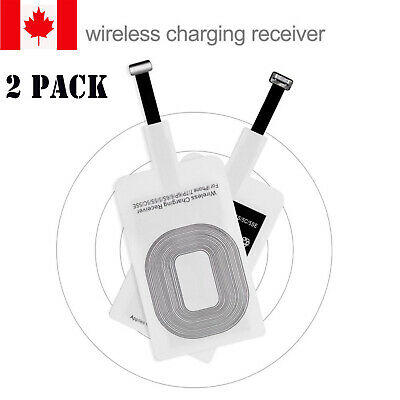 New Qi Wireless Charger Adapter Fast Charging Receiver For iPhone 5s 6 6s 7 Plus