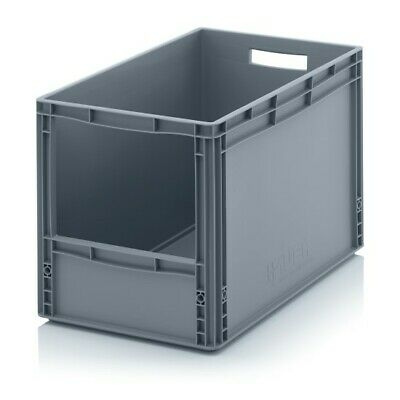 Storage Containers 60x40x42 with Window Stacking Box Eurobox Stackable