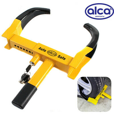 Heavy duty WHEEL CLAMP lock security anti-theft security car motorbike trailer