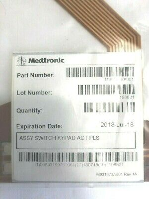 Medtronic Switch Keypad Assembly M961239A001 ACT Plus