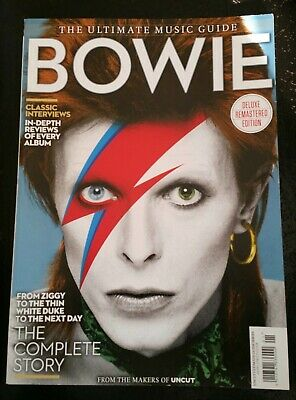 Bowie magazine The Ultimate Music Guide Deluxe Remastered edition