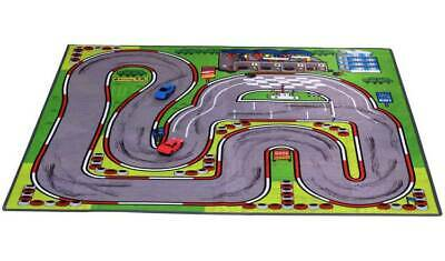 Chad Valley Double Sided Playmat and Cars One Side Has A Vibrant City Scene New