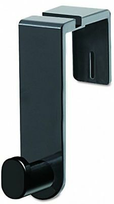 Safco Products 4224BL Over the Panel Single Coat Hook, Black