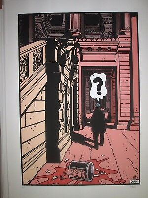 Tardi Rare Print Archives Overseas 55 x 75 N & S 1981 New