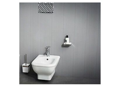 Agape Memory ACER0898BSZ wall hung bidet in white ceramic