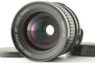 【 Exc+5 】 Pentax 67 SMC P 75mm f/4.5 Late Model MF Lens For 6x7 67 II from JAPAN