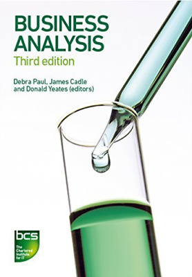 Cadle, James-Business Analysis (US IMPORT) BOOK NEW