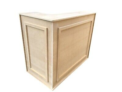 MDF Retail/ Shop/ Office Reception Desk/ Corner Counter Unit / Medium Desk