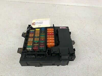 03-08 Bmw Z4 Fusebox Interior Right Rh Passenger Side Oem Used Fuse Box Lot2120