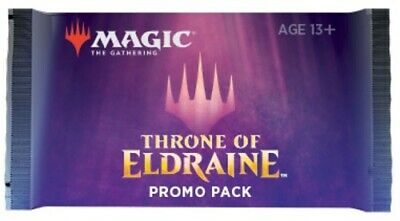 1x Throne of Eldraine Promo Booster Pack MTG Magic ELD x1