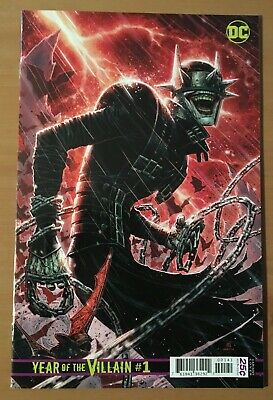 DC Comics Year of the Villain #1 Chueng 1:500 Variant NM+ Never Read! See Pics!