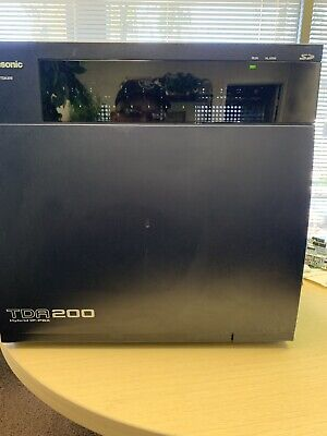 Panasonic KX-TDA200 Hybrid PBX with Cards and Free Voicemail