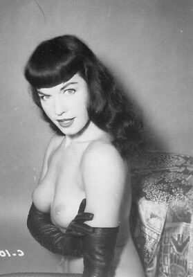 Vintage Bettie Page Photo 650 Oddleys Strange & Bizarre 4 x 6