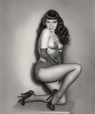 Vintage Bettie Page Photo 599 Oddleys Strange & Bizarre 4 x 6