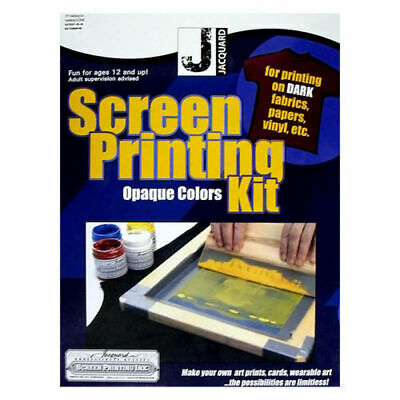 NEW ON SALE Jacquard Screen Printing Kit - Opaque Color