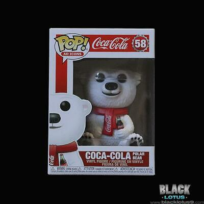 Funko Pop! Coca-Cola Polar Bear Ad Icons Coke Coca Cola Classic IN STOCK Pop 58