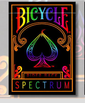 Bicycle Spectrum Deck by US Playing Cards - Magic Tricks