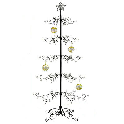 ADORABLE Decorations Metal Christmas Ornament Display Holder Tree Stand  36 in