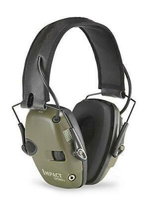 Howard Leight Impact Sport Ear Muff Olive Green 1013530