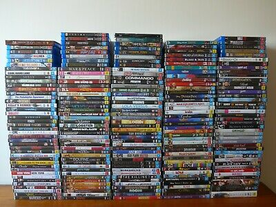*SPRING SALE* 202 Movies & TV shows on DVD/Blu-ray, all VGC - Dropdown menu