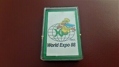 World Expo 88 Souvenir Playing Cards
