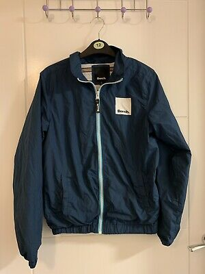 Boys Bench Blue Lightweight Jacket 12-13 Years