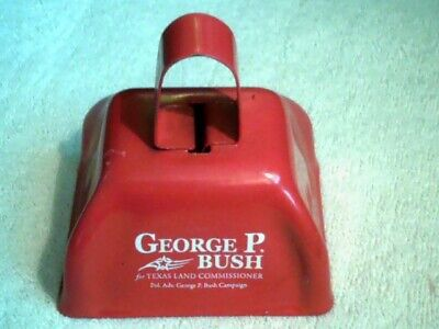 George P. Bush for Texas Land Commissioner Campaign RED COW BELL
