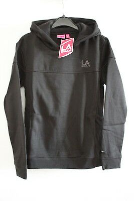 LA Gear Girls Black OTH Hoody LS Hoodie - Age: 11-12 years