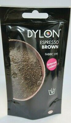 Dylon Hand Wash Fabric Espresso Brown Colour Dye For Jeans Clothes Textiles-50g