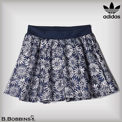 🔥 SALE Adidas Originals Allover Print Trefoil Girls Skirt Age 13-14-15-16 Years