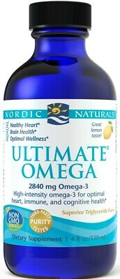 Nordic Naturals, Ultimate Omega, 2840 mg Lemon Flavor