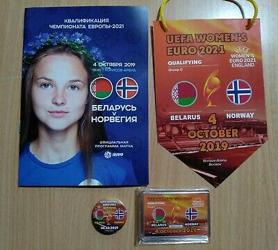 BELARUS NORWAY 4 October 2019 Q EURO-2021 Womens official *price for programm