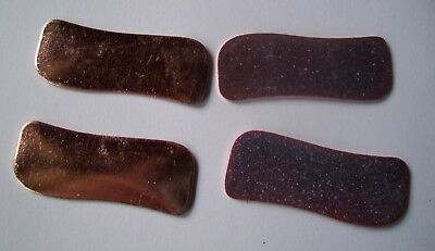15X Copper Blanks for enameling use- MEDIUM SWAY BAR shape