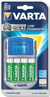 [Ref:57070201401] VARTA chargeur LCD Charger, avec adaptateur 12 V