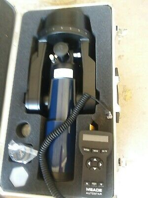 Meade ETX-80 telescope with hard case.No Tripod included