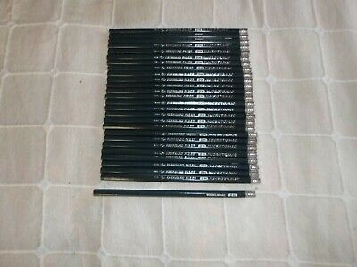 LOT OF 27 Vintage Eberhard Faber 600 Drawing Pencils 2H  Woodclinched New
