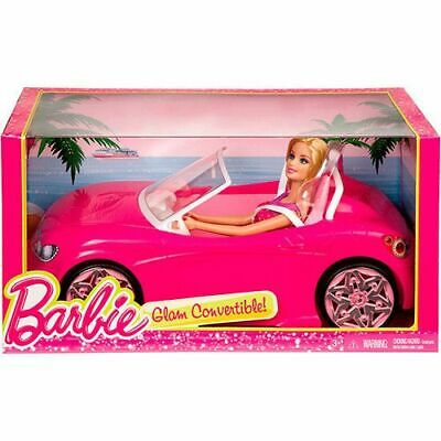 New Barbie Convertible Car And Barbie Doll Set BARBIE GLAM CONVERTIBLE