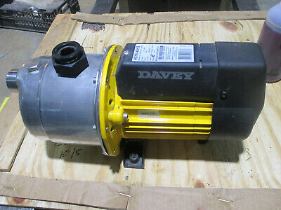 Davey booster pump Model HS18-40H2-1 230VAC single phase