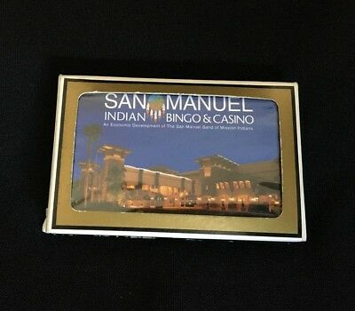 Playing Cards San Manuel Indian Casino - NEW