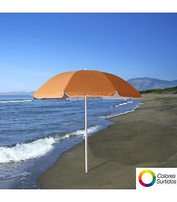 PAPILLON Sombrilla Playa Proteccion Uv Aluminio 200 Cm.