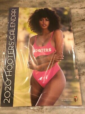 2020 Hooters Calendar! Brand new! Calendar Girls Poster, w/ $75 Coupons, Sealed!