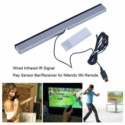 Wired Infrared IR Signal Ray Sensor Bar/Receiver for Nitendo Wii Remote GN