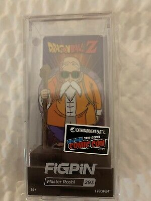 Nycc 2019 Ee Figpin Dragon Ball Z - Master Roshi Figpin #293 Dbz In Hand