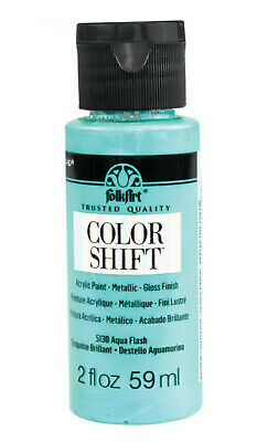 Folk Art Metallic Paint Teal