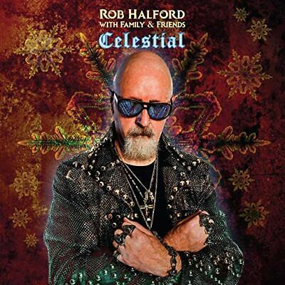 Rob Halford With Family & Friends Cd - Celestial (2019) - New - Christmas