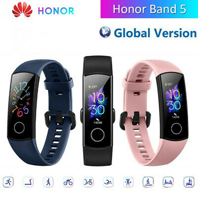 """HUAWEI HONOR Band 5 0.95"""" AMOLED Smart Fitness Tracker Monitor 5ATM Braccialetto"""