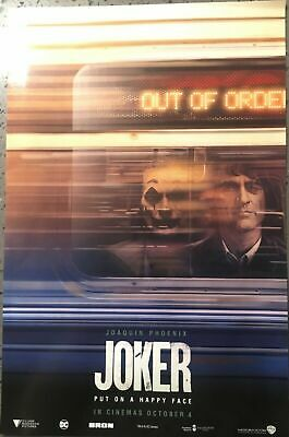 Official Odeon JOKER Poster, Joaquin Phoenix, NEW