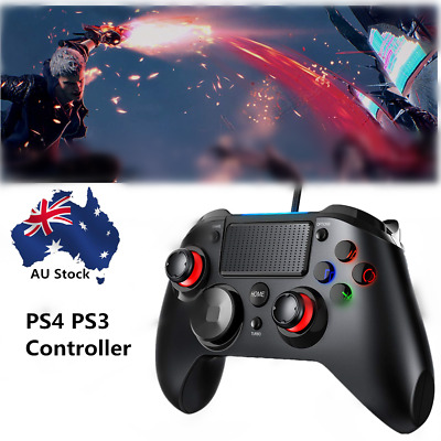 Playstation 4 PS4 Wired Gaming Controller DualShock For PS3 Gamepad Controller